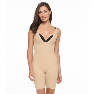 One piece body shaper support